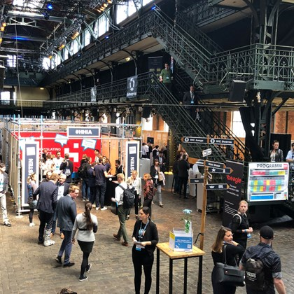 HHIS: Der Hamburg Innovation Summit 2019 in der Fischauktionshalle
